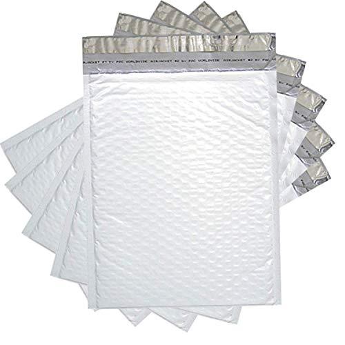 Sales4Less #2 Luftpolster-Versandtaschen, 21,6 x 30,5 cm, wasserdicht, 10 Stück (Mailer 10x12 Poly)