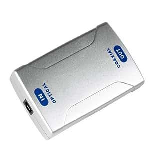 Hama Digital-Konverter, Optical IN ODT (Toslink)/Koax OUT