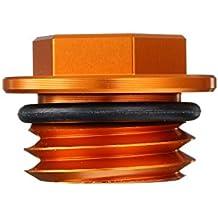 GOZAR Tapón De Engrase Scerw Cap CNC De Acero Inoxidable Naranja para KTM 125-530