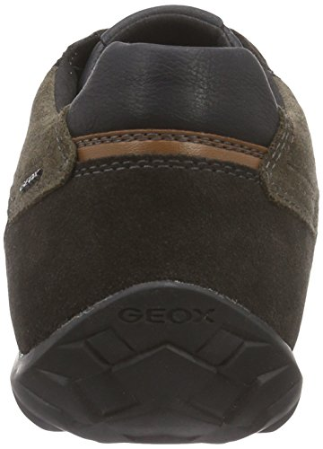 Geox U PAVEL A, Sneakers basses homme Multicolore (C9999BLACK)