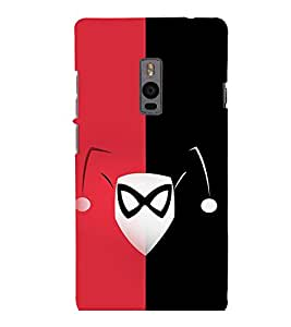 printtech Clown Girl Back Case Cover for One Plus Two ::One Plus2