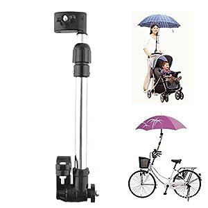 416WFYLIrdL. SS300 Muttiy - Portaombrello regolabile di alta qualità, montatura per maniglia, per bicicletta, passeggino, sedia a rotelle