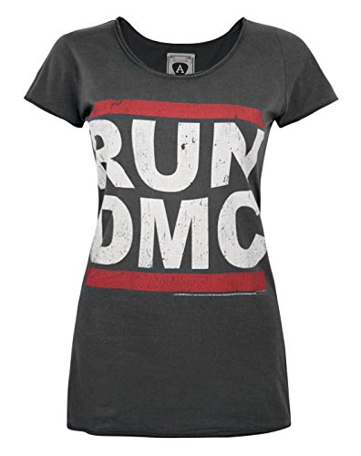 Damen - Amplified Clothing - Run DMC - T-Shirt (XL) - Shirt Run Fun