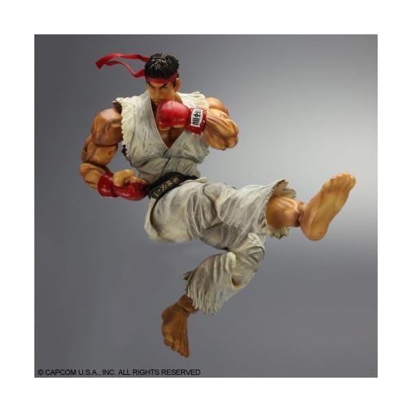 Super Street Fighter IV - Figura Play Arts Kai Ryu 2