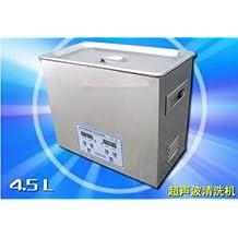 Acero inoxidable GOWE 4.5L equipamiento médico sellado piezas PCB limpiador Digital por ultrasonidos 220 V/110 V con cesta