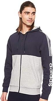 adidas Men's Essential Colorblock Fullzip Ho