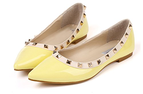 fereshte - Sandali con Zeppa donna (02 Yellow)