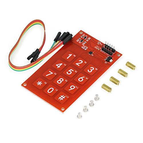 Demarkt CJMCU-122 MPR121 Modul kapazitive Berührung Sensor Knopf Sensitive Tasten Tastatur