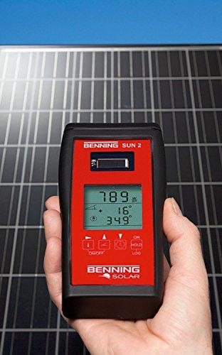 Benning SUN 2 Gerät zur Messung von Temperatur und Strahlung, 050420