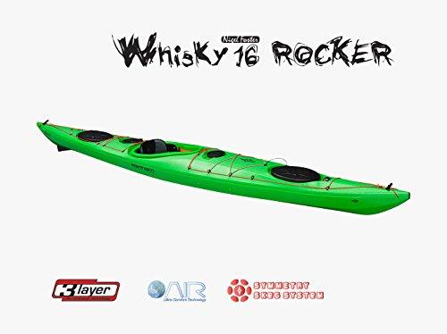 Whisky 16Rocker Rudder skeg Lime