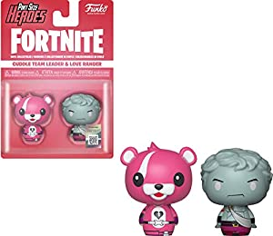 Fortnite- Pint Size Heroes Pack 2 Figuras Cuddle Team Leader & Love Ranger, Multicolor (38032)