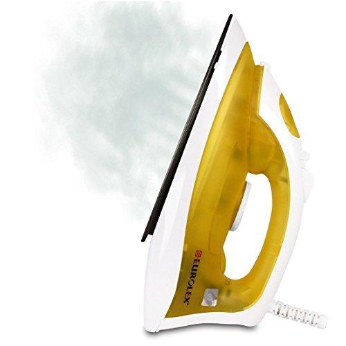Eurolex EL1615 1200Watts Cloth Steam Iron-Yellow