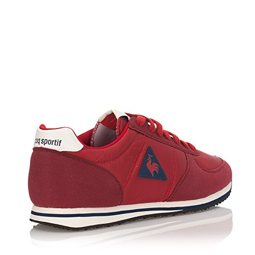 Le Coq Sportif Bolivar, Chaussons Sneaker Adulte Mixte Rot - rot