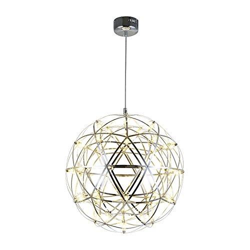 Lustre en fer, Nordic LED Acier...