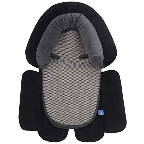 2-In-1 Universeller Sitzverkleinerer Neugeborene und Baby Kissen,Autositze Zubehör ,Geeignet für Kinderwagen und Baby Autositz