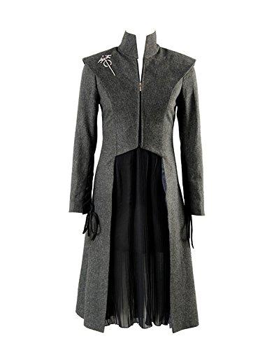 GOT Game of Thrones Season 7 Daenerys Targaryen Outfit Cosplay Kostüm Damen XL