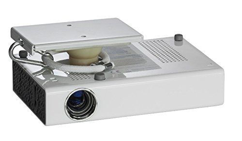 Celexon - Soporte de techo Multicel para pico proyectores mini o de bolsillo, Carga máxima 2 kg, Rotación 360º, Incluye protección contra caída