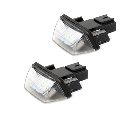 Luci targa a LED lampadine per 207308406per Citroen C32x