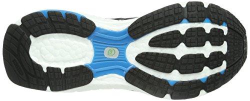 adidas Energy Boost 2 M22600 Damen Laufschuhe Schwarz (Black 1/Black 1/Solar Blue2 S14)