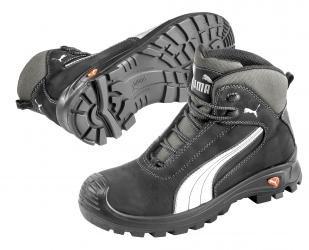 Puma Cascades Mid S3 HRO SRC, Puma, Bottes de sécurité mixte adulte Noir - Noir