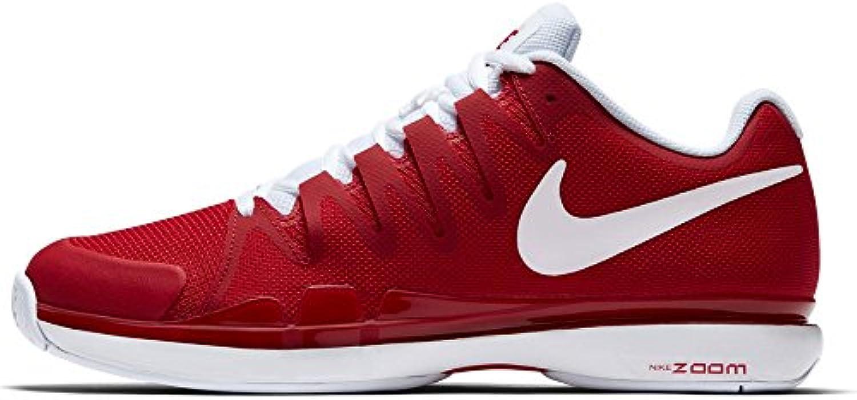 Tour Nike Zoom Vapor 9.5 para hombre (colores de invierno 2017) (10.5, UNIVERSITY RED / WHITE)