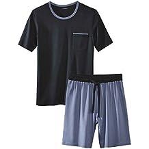 067ab4749a5c4b Livergy® Herren Pyjama/Shorty / Schlafanzug - 2-Teiler