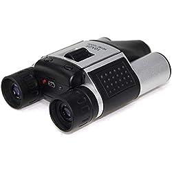 FISHTEC ® Jumelles Caméra Numérique - Enregistre Photos et Vidéos - 10x25 - Grossissement x10