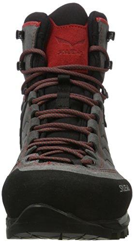 Salewa Herren Ms Mtn Trainer Mid Gore-Tex Trekking-& Wanderstiefel Mehrfarbig (charcoal/Papavero 4720)