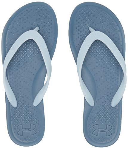 Under Armour Atlanticdune T, Zapatos de Playa y Piscina para Mujer, Azul Thunder/White/Coded Blue 404...