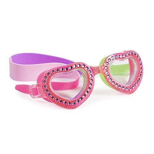 Bling2O Gafas de Natación para Las Niñas–je t 'Aime Niños Gafas de Natación, Rosa Punch
