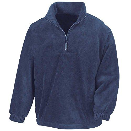 416WQSknUKL. SS500  - Result Mens Active Half Zip Fleece Jackets