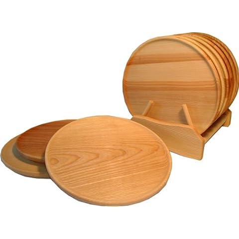 Plato de funda de edredón de HS 24, de madera de fresno