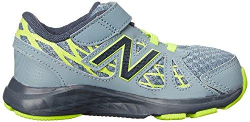 New Balance KV690I Running Shoe (Infant/Toddler) Grey/Yellow