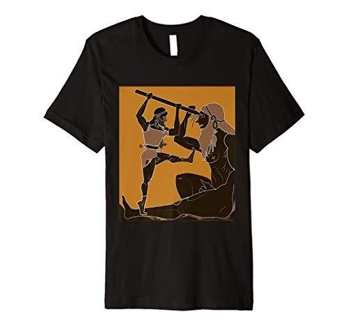 Cyclops und Odysseus T-Shirt griechischen Mythologie Antiken Griechenland