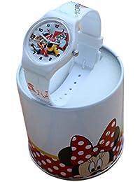 Reloj para niño de Disney, Minnie, Mickey Mouse, Donald, Dingo