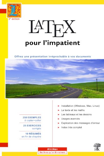 LaTeX pour l'impatient - Hardcover par CELINE CHEVALIER