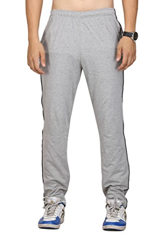 vego men's Grey cotton Track pant (HP-111-Grey-34)