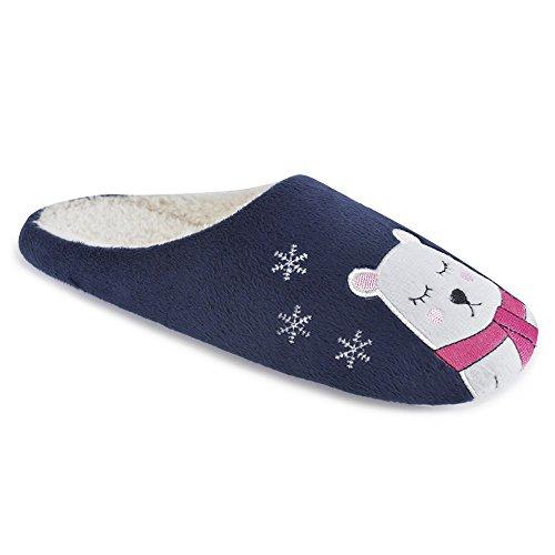 SlumberzzZ Pantofole Donna Navy