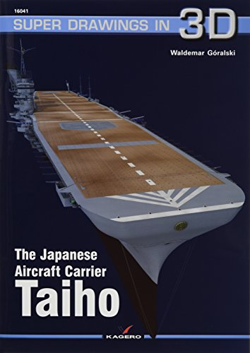 The Japanese Aircraft Carrier Taiho (Super Drawings in 3d) por Waldemar Goralski