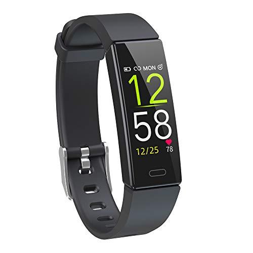 Dwfit-Fitness-Uhr-mit-PulsmesserWasserdicht-Fitness-Armband-Aktivittstracker-Fitness-Tracker-Schrittzhler-Uhr-Sportuhr-fr-iOS-Android-Handy