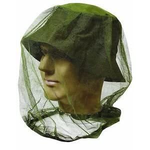 416WW17UFdL. SS300  - Highlander Lightweight Mosquito Mossi And Midge Mesh Headnet Head Net