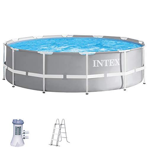 Intex Schwimmbecken Pool Ø 366 x 99 cm Frame Pool Set Prism Rondo 26716