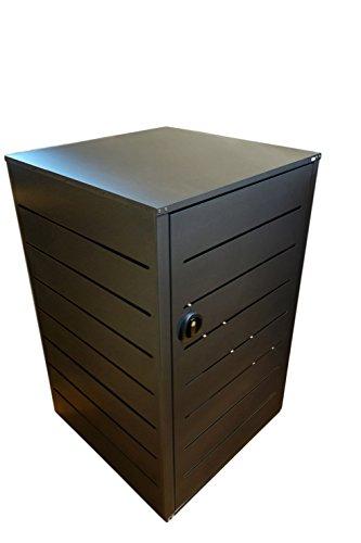 Mülltonnenbox, Müllbehälterverkleidung, Mülleimerverkleidung, Müllbox, Lendobox, - 2