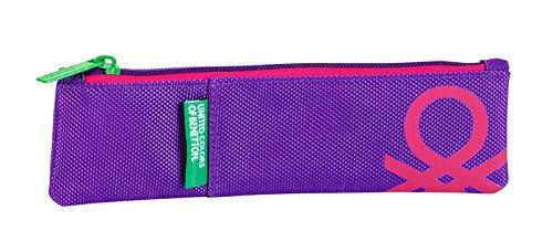 Benetton – Benetton purple, portatodo estrecho.
