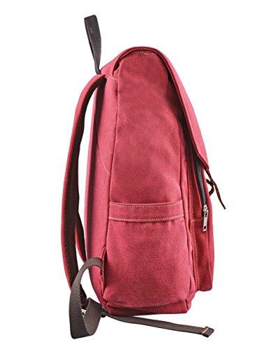 Douguyan-Lona-Mochila-Bolsa-para-Mujer-Mochilas-Hombre-Macbook-Computadora-de-Escuela-Viaje-120-Rojo