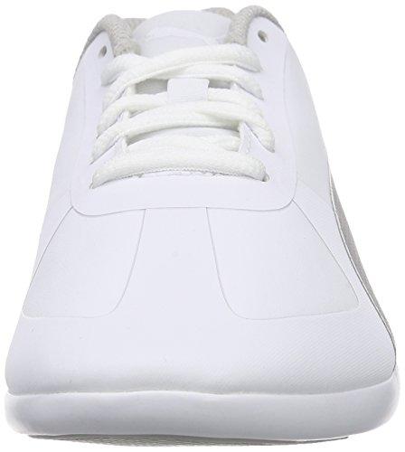 Puma Modern Soleil SL - Scarpe da Ginnastica Basse Donna Bianco (Weiß (white-puma silver 01))