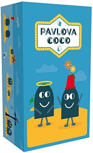 Pavlova Coco - Juego de Cartas (12 Unidades), Color Azul