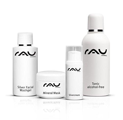 RAU Cosmetics Starter-Set unreine Haut - KLEIN (Schlaf-tees Kurze)