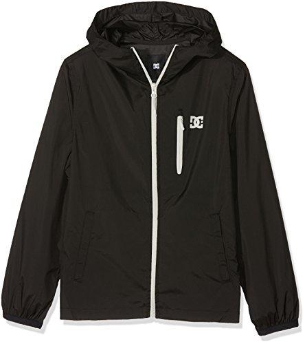 DC Apparel Jungen Dagup Jacket, Anthracite Solid, 16/XL