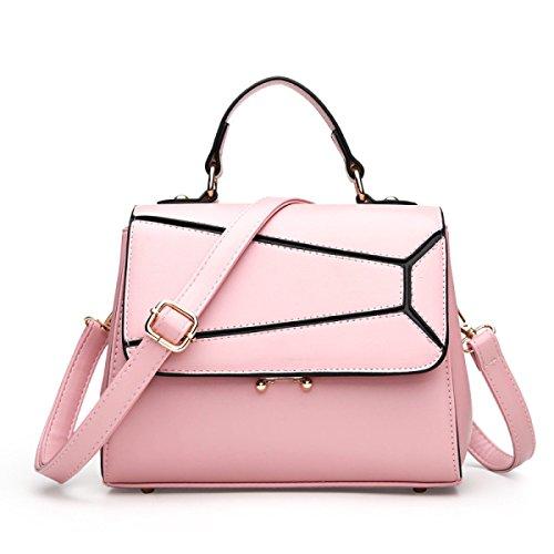 ZPFME Frauen Umhängetaschen Mode Elegant Mini Tasche Party Retro Bankett Mode Umhängetasche Damen Tasche Retro Geschenk Pink